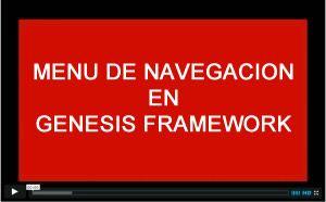Menu de navegacion en genesis framework