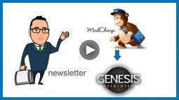 mailchimp y genesis framework