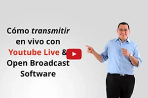 Como usar Youtube Live y Open Broadcaster Software